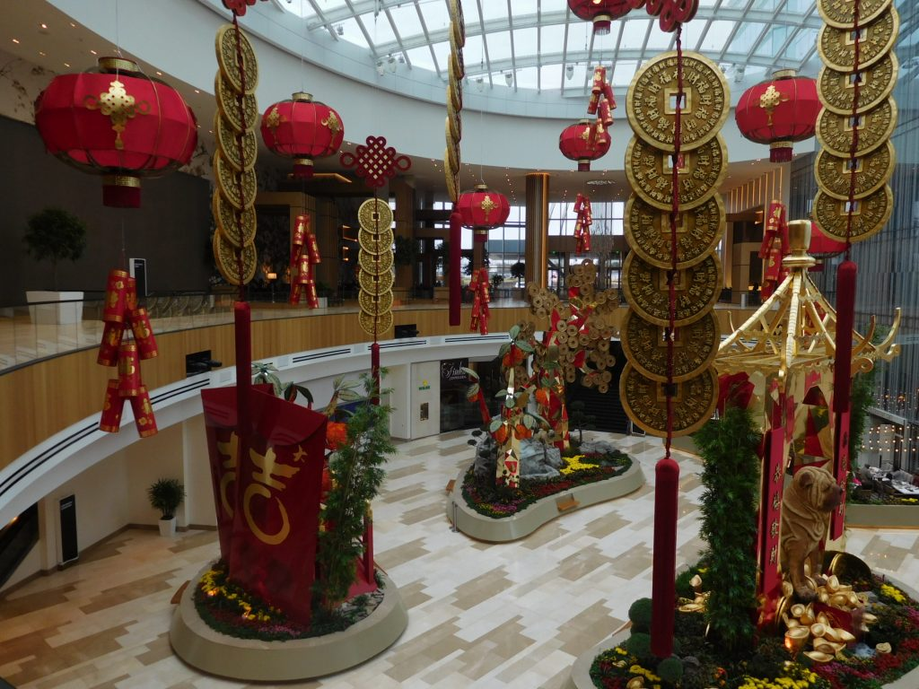 MGM National Harbor Welcomes Year of the Dog 2018 With Lion